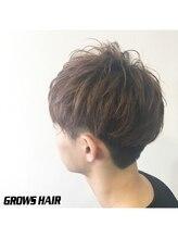 グロウズ ヘアー(GROWS HAIR)無造作ツーブロック