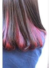 ヘアーサロンボニータス(Hair Salon Bonitas)インナーカラー ボルドー