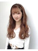 ドォート(Dote hair make)【林's】巻き髪オレンジブラウン