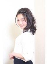 ウフヘアー(ufu hair)簡単♪前髪アレンジスタイル【唐木田駅前】