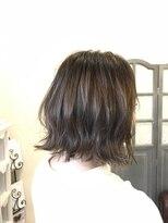 ルーチェ ヘアサロン(Luce hair salon)外ハネボブ