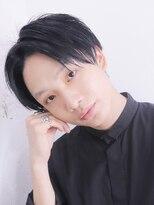 アルバム シンジュク(ALBUM SHINJUKU)七三オールバックツイストパーママッシュウルフ_56188