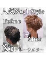 ビューティーコネクション ギンザ ヘアーサロン(Beauty Connection Ginza Hair salon)【ナイリーstyle】20代30代40代 メンズスタイル