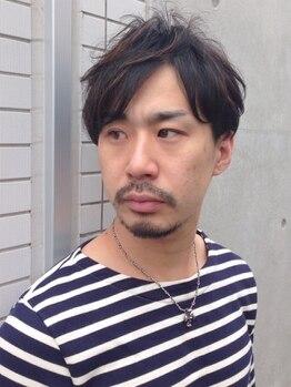 プティシュ(Petit Chou)の写真/【カット+パーマ+Tr¥8800】男の魅せ方を熟知したstylistが女子ウケも考慮した一番似合うstyleをご提案!