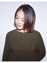 ヘアサロン エフ(HairSalon F)【HairsalonF】外ハネショートボブスタイル