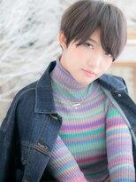 ★ハンサム♪黒髪マッシュショート★2