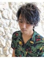 メンズパーマ☆アッシュ☆イメチェン☆学割U24