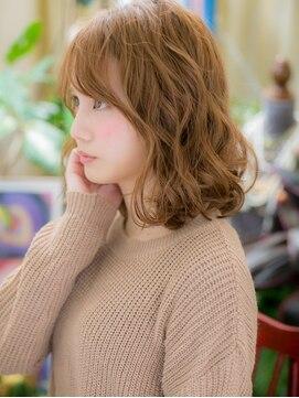 カバーヘア ブリス 上尾西口店(COVER HAIR bliss)*+COVER HAIR+*…ハイトーンウェービーヘアa