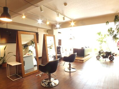 ハレル ヘア ラウンジ(hallelu hair lounge)の写真
