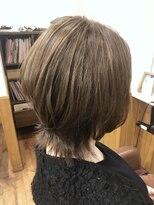 テトラ ヘアー(TETRA hair)レイヤーウルフ
