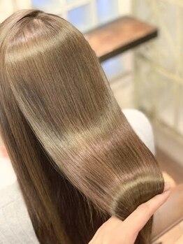 ピースナンバ(PEACE NAMBA)の写真/【なんば駅徒歩2分】PEACE独自『モテ髪診断』で髪質改善!周りが思わず振り返る理想のサラツヤ美髪へ♪