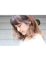 アンバースデー(UNBIRTHDAY)ミディアム/レイヤー 【大成 志織】