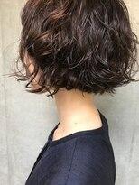 bibito 前髪デジタルパーマ ネオソバージュ強めパーマウェーブ
