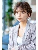 【HAVANA渋谷】大人かわいい☆小顔前下がりショートボブ