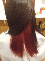 テトラ ヘアー(TETRA hair)インパクトインナーカラー