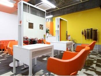 ヘアスタジオ ライズ(Hair studio Rise+)の写真/ほど良い距離感でリラックスして過ごせる店内で、あなたの理想を叶えてくれる技術を体験★