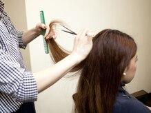 ルーセントヘアー(LUCENT HAIR)の雰囲気(お客様のなりたい理想のスタイルを叶えます。)