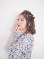 オジコ(ojiko)☆月曜日営業☆ojiko.ゆるかわ女子の大人ハーフアップ