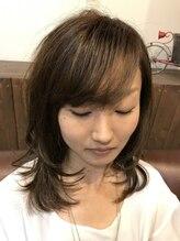 ヘア ドレッシング ステラ(Hair Dressing Stella)ミディアムスタイル