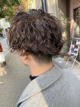 アオゾラヘアーナミキザカ(AOZORA HAIR namikizaka)の写真/<お店選びに迷ったらまずココへ♪>今行きたい。お洒落メンズが足しげく通う紹介が絶えないAOZORA HAIR