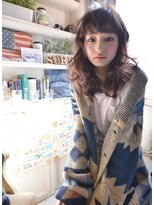 ラベリー(LOVELEY)LOVELEY ゆるかわレイヤーセミディ ミルクティーカラー☆396