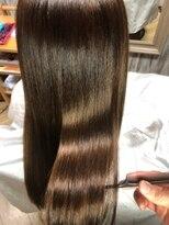 ナナナパレナ 心斎橋店(nanana parena)【髪質改善】ナナナパレナ自慢の縮毛矯正で艶髪ストレート♪