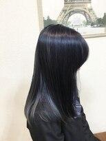 ヘアメイク スコア(Hair Make S CORE)ブルーブラックブリーチカラー