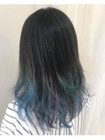 ヘアー フレイス メイク(Hair Frais Make)レトロウェーブ×フェザーロング【フレイス横浜】