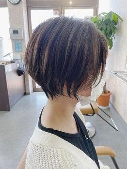 ベースヘアーデザイン(BASE HAIR DESIGN)の写真/ショートヘアはカットが重要!骨格や生えグセを見極め、あなたの個性を活かした理想のショートに☆
