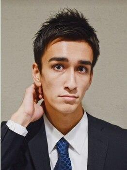 ミチオ ノザワ ヘアサロン ギンザ(Michio Nozawa HAIR SALON Ginza)の写真/[Michio Nozawa]プロデュース!「オトナ×カッコイイ」男も女も惚れるメンズStyleへ♪ON/OFFどちらにも対応