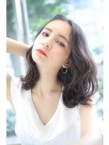 ヘアーメイクミキ 上野本店(hair make MIKI)鎖骨レングス