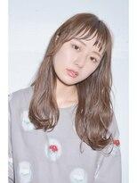 クリアーオブヘアー 栄南店(CLEAR of hair)【CLEAR】ゆるカジロング×プラチナグレージュ