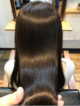 シャンティ シャンティ(shanti shanti)の写真/立川でも希少な髪質改善ストレート★クセ・うねりを綺麗に伸ばして柔らかい質感をkeep♪