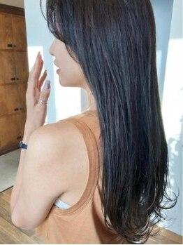 ビューティービースト 豊見城店(beauty beast)の写真/【豊見城市】髪質改善で髪の素材自体が見違えるほど美しい髪に導きます!丁寧な施術でダメージも最小限☆