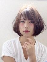 ワン002 (ONE)『ひし形シルエット×ショートボブ』小島 寿