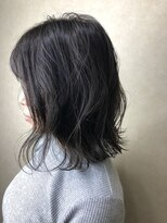 ヘア プロデュース キュオン(hair produce CUEON.)medium × navy gray