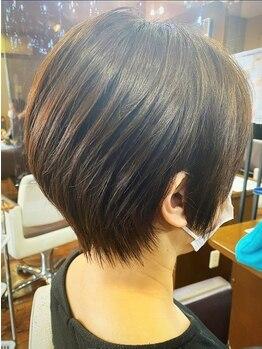 ヘアメイク フェイス(hair make faith)の写真/【新規カット/¥2475~】経験豊富なスタイリストが360度どこから見ても可愛いスタイルを♪ 〈千城台〉