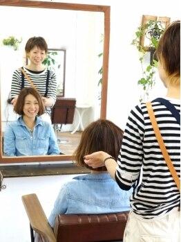 アンライプ(Unripe)の写真/しっかり長めのカウンセリングが口コミで話題♪ヘアケアマイスターが在籍してるから的確なヘアケアをご提案