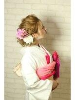 トータルビューティーサロン ディーグレース(TotalBeautySalon D.Grace)春和装の無造作アップ