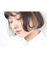アンバースデー(UNBIRTHDAY)ボブ/インナーカラー【萩原真悟】