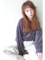 コンビネーション(combination)外国人風な透明感のあるカラー☆斜めバング☆無造作パーマヘア☆
