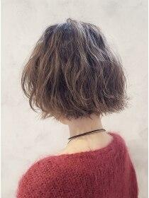 ローグ ヘアー 金町店(Rogue HAIR)ローグヘアー 金町【高 和宏】デザインカラー 切りっぱなしボブ