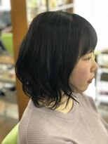 ヘアーアンドフェイス タケトイズ(hair&face TAKETO.is)ゆるふわパーマ