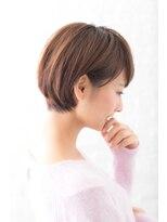 ガーデン ハラジュク(GARDEN harajuku)【Grow】高橋 苗 耳かけナチュラルショートボブ☆