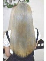 ヘアーサロン エール 原宿(hair salon ailes)(ailes 原宿)style352 ストレート☆シルバー