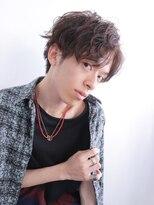 アルバム シンジュク(ALBUM SHINJUKU)ワイルドセミウエットラフウェットアップショート_4164