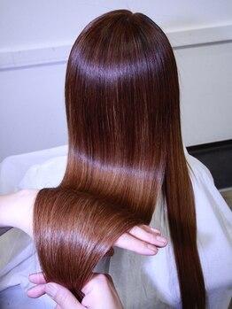 デュース 東口店(Douce)の写真/今までのトリートメントの効果を感じられなかった方必見☆本当に自分の髪か疑うほど、驚きの質感に感動♪
