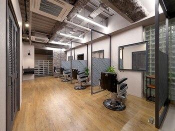 サニーズ バーバー(Sunny's barber)の写真/【11月23日NEW OPEN/半個室】22時まで営業!ONもOFFも全力で楽しむ、オトコの為のサロン<Sunny's BARBER>