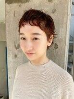 【amelie】ピンパーマショートスタイル