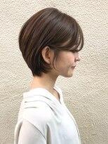 <Tierra-j宮崎直哉>30.40代にオススメ☆前髪長めのショートボブ